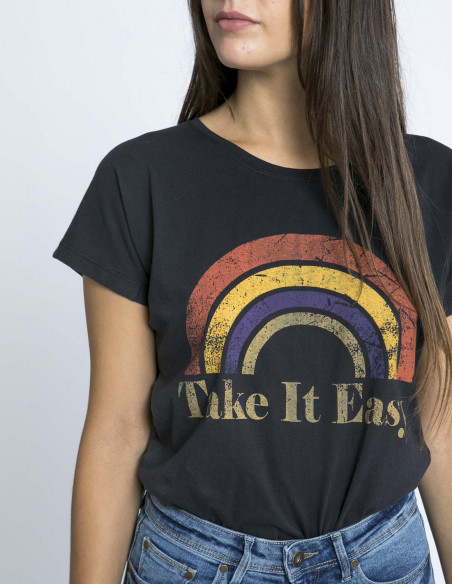 Camiseta arco iris easy blend she zaragoza sommes demode