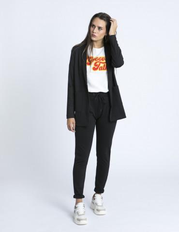 Pantalones negros Kate ICHI zaragoza sommes demode