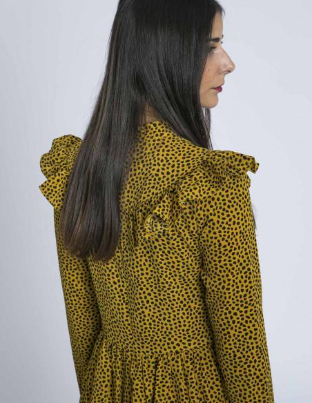 Vestido Mostaza Julieta Glamorous Sommes Demode Zaragoza