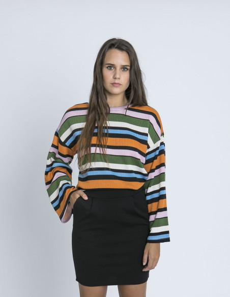 Falda Negra Kate Ichi Sommes Demode Zaragoza