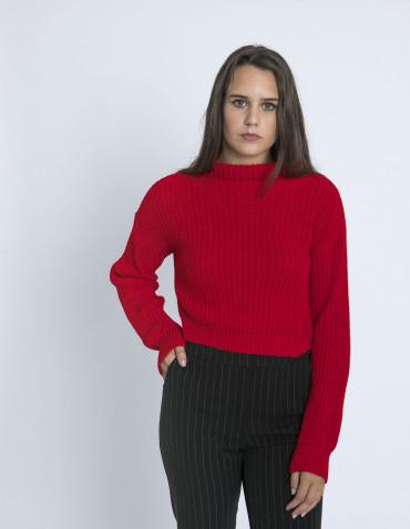Jersey Rojo Kimbra Glamorous Sommes Demode Zaragoza