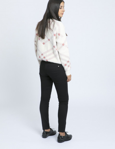 Jeans lola low black desires zaragoza sommes demode