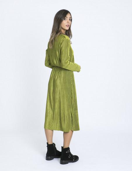 vestido plisado glamorous zaragoza sommes demode
