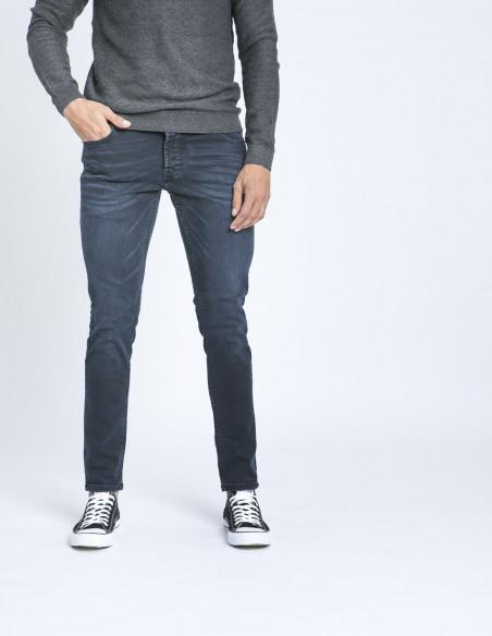 Jeans slim joy blue solid zaragoza sommes demode