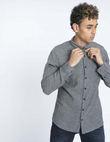 camisa gris blend zaragoza sommes demode