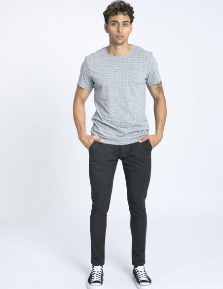 camiseta gris joystick blend zaragoza sommes demode