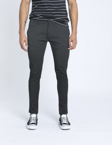 Pantalon gris chino tailored originals zaragoza sommes demode