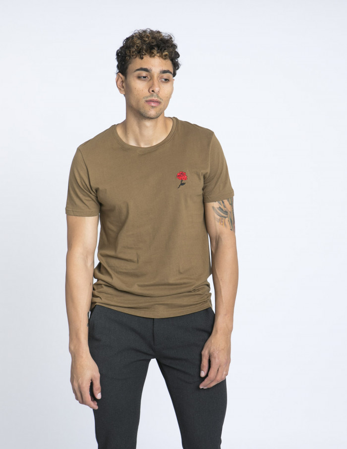 camiseta rose solid zaragoza sommes demode