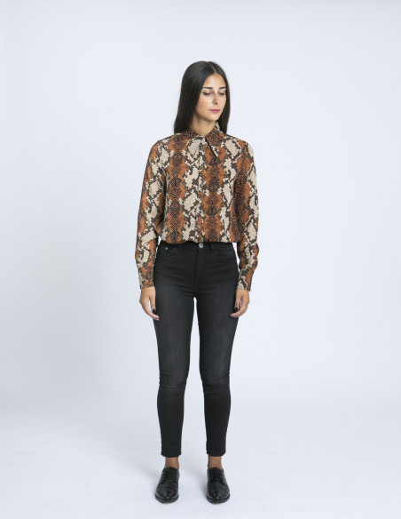 camisa animal print doreen desires zaragoza sommes demode