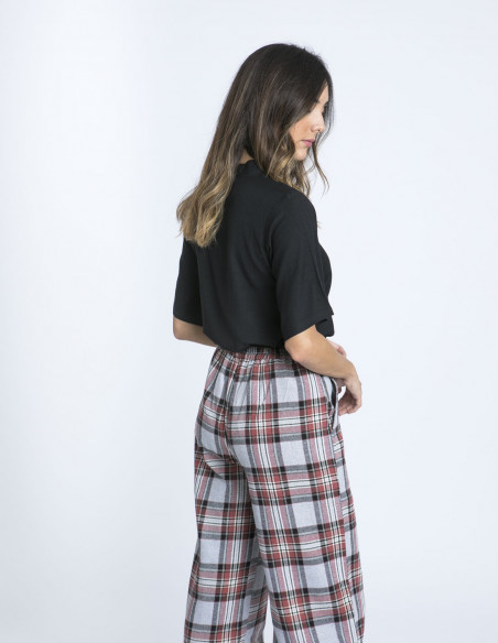 Pantalones Cuadros Compañia Fantastica Sommes Demode Zaragoza