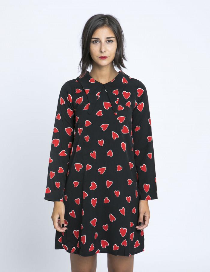 vestido corazones rojos compañia fantastica zaragoza sommes demode