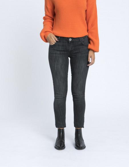 jeans lola mid black grey desires zaragoza sommes demode