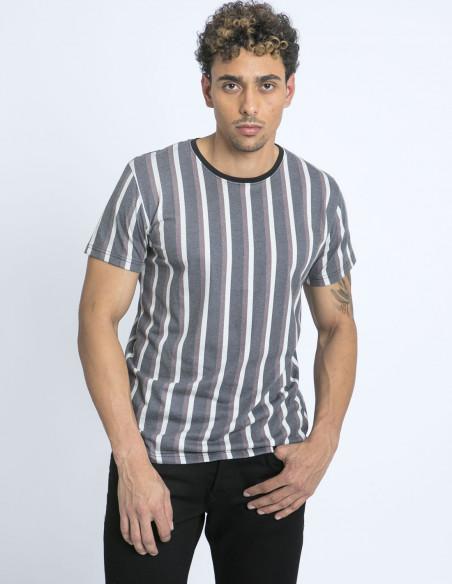 camiseta rayas solid zaragoza sommes demode