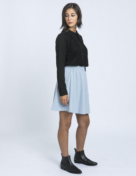 falda azul lunares compañia fantastica zaragoza sommes demode