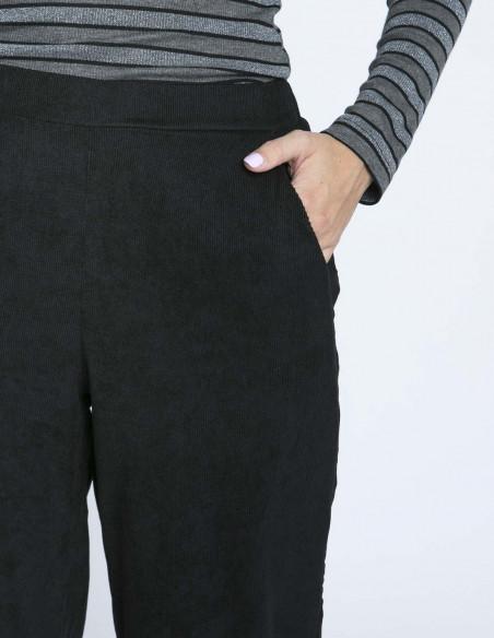 pantalon pana negro recto compañia fantastica zaragoza sommes demode