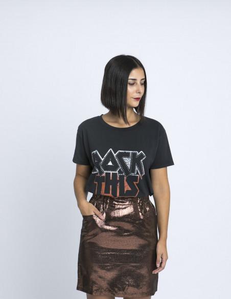 camiseta rock this life blend she zaragoza sommes demode