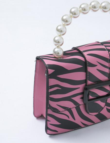 Bolso Estelle Zebra Skinnydip Sommes Demode