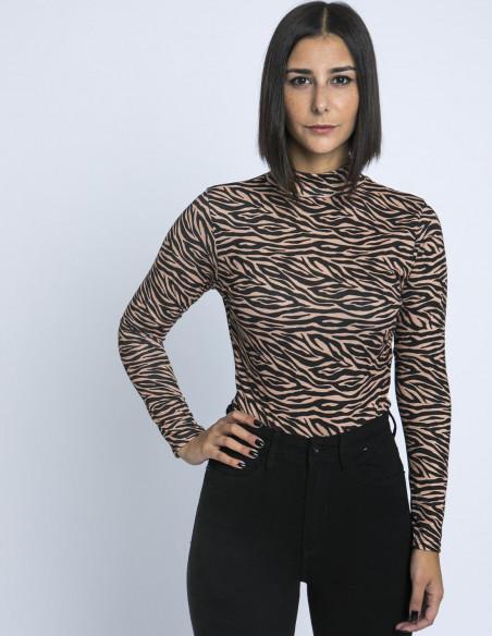 Body Zebra Glamorous Sommes Demode