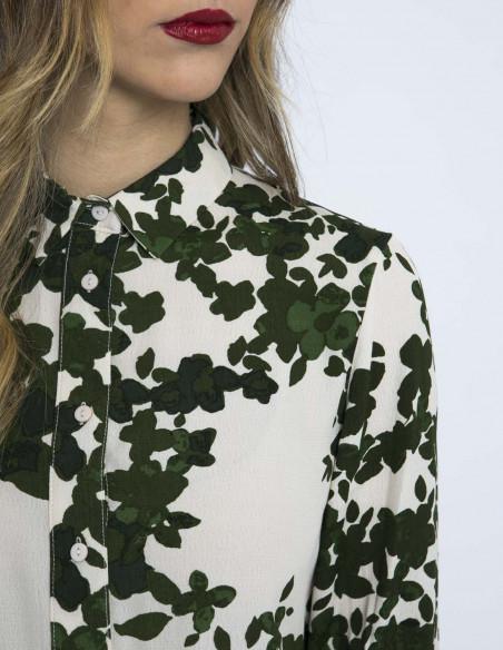 camisa hojas anelle ichi zaragoza sommes demode