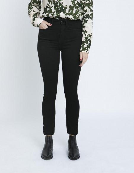 jeans paloma flash black ichi zaragoza sommes demode