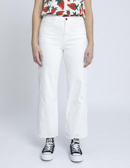 jeans rectos blanco compañia fantastica zaragoza sommes demode