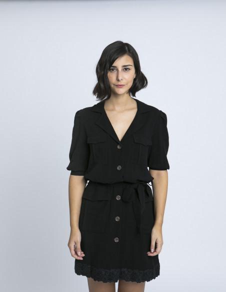 vestido niara negro maggie sweet zaragoza sommes demode