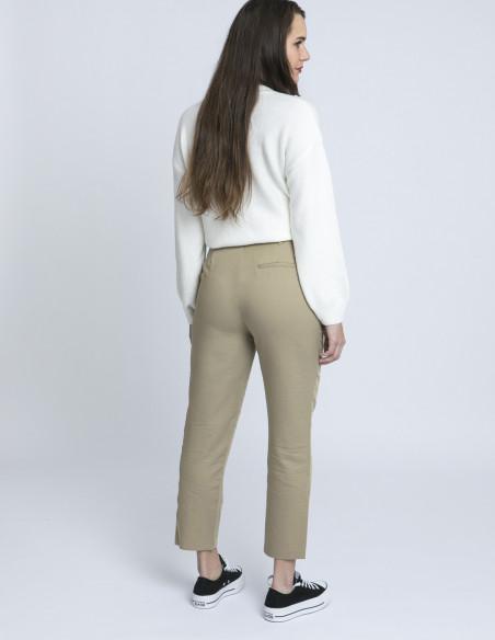 pantalon beige pensee frnch zaragoza sommes demode