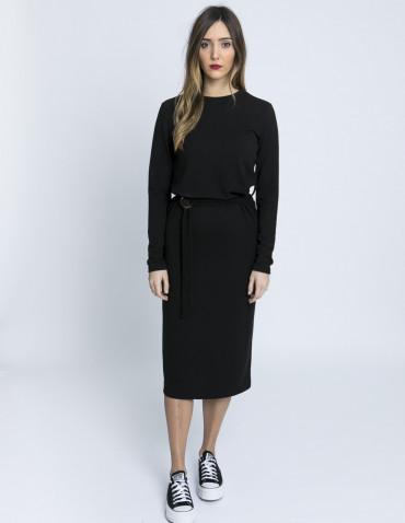 vestido jamelia negro glamorous zaragoza sommes demode
