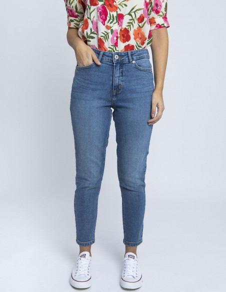 jeans luva light blue ichi online sommes demode zaragoza