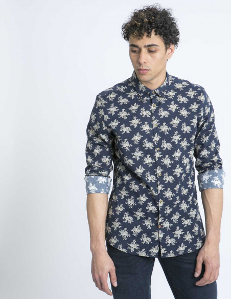 camisa flores odin tailored originals online sommes demode zaragoza