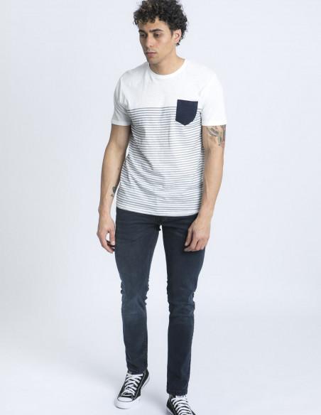 camiseta rayas hal solid online sommes demode zaragoza