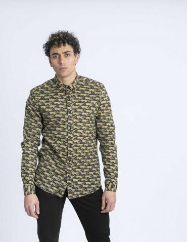 camisa tigres solid online sommes demode zaragoza