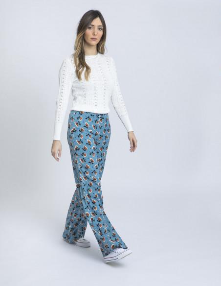 pantalon amapolas azul wild pony online sommes demode zaragoza