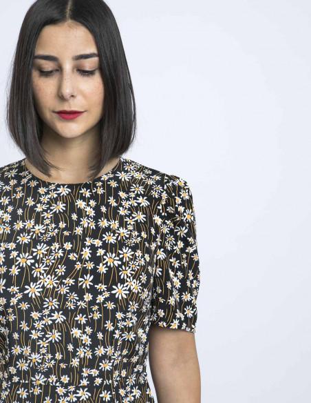 vestido largo margaritas glamorous online sommes demode zaragoza