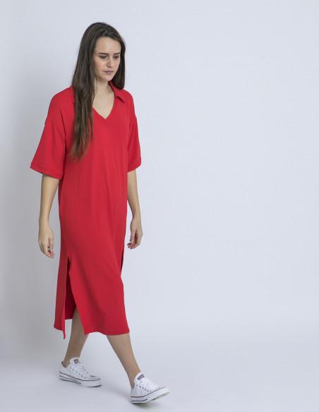 vestido polo rojo wild pony online sommes demode zaragoza