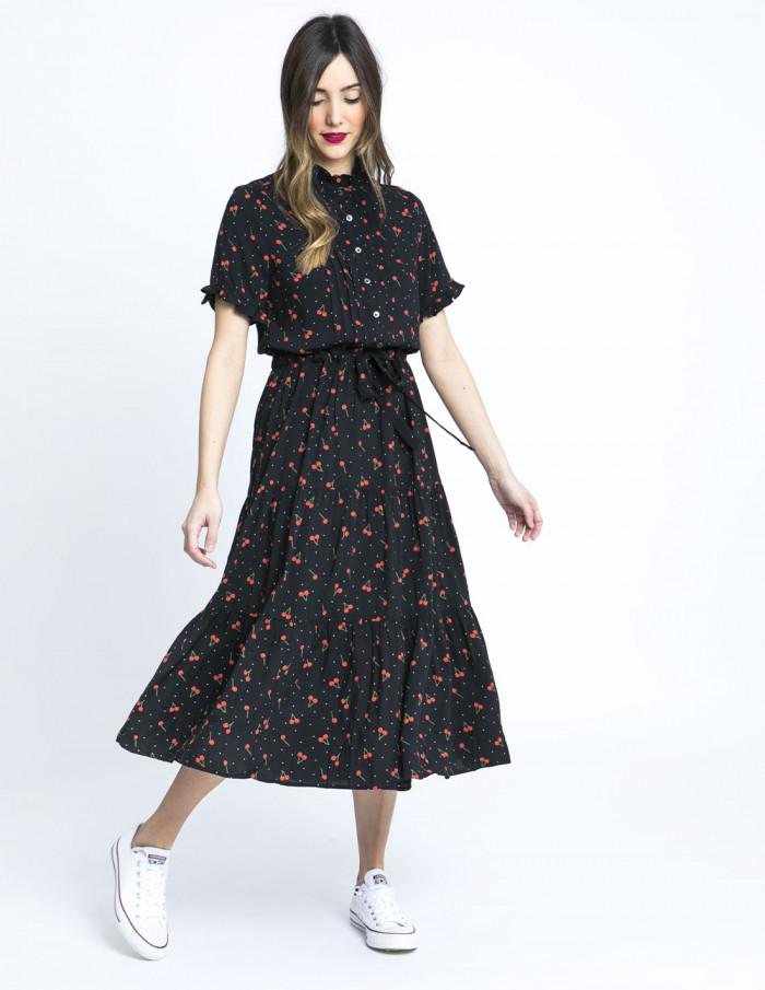 vestido cerezas ailine frnch online sommes demode zaragoza