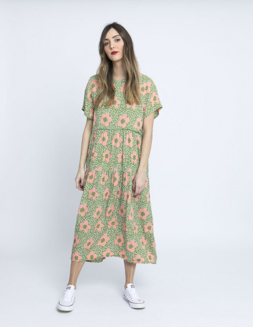 vestido oversize margaritas rosas wild pony online sommes demode zaragoza