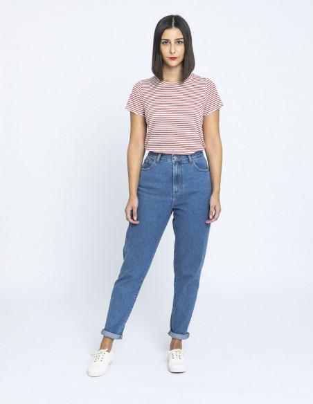 camiseta rayas falka rosa desires online sommes demode zaragoza
