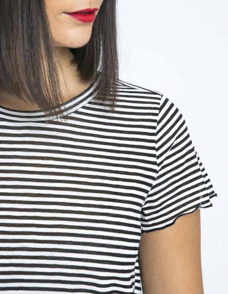 camiseta rayas falka negro desires online sommes demode zaragoza