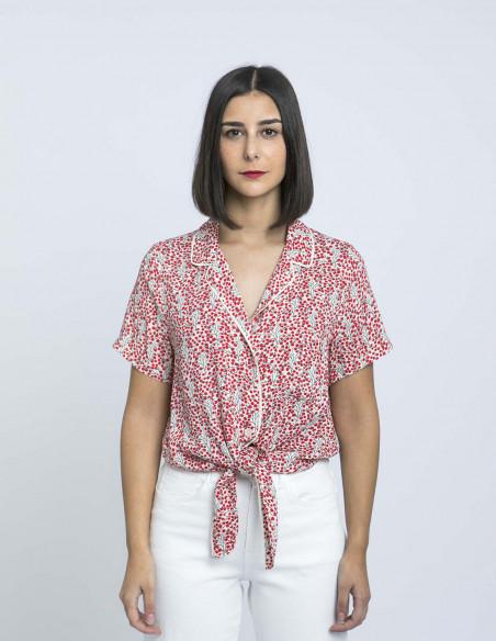 camisa floral carlie frnch zaragoza sommes demode