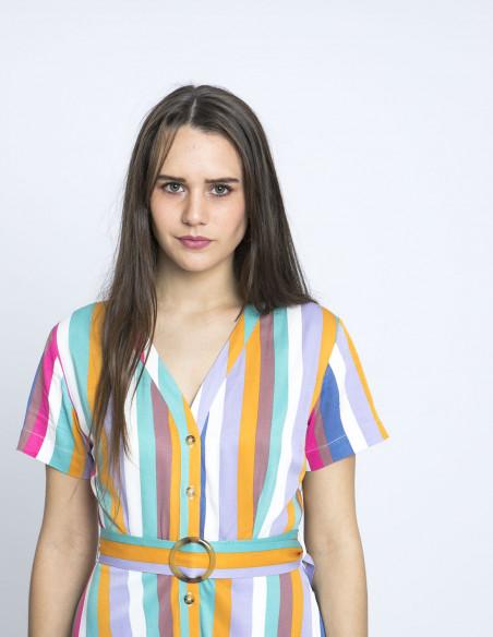 vestido cassidy rayas sugarhill brighton online sommes demode