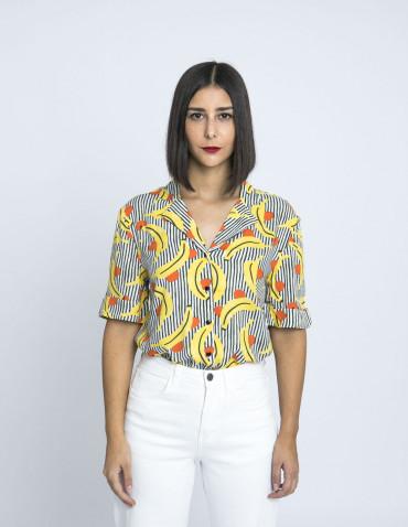 camisa platanas rayas compañia fantastica sommes demode zaragoza