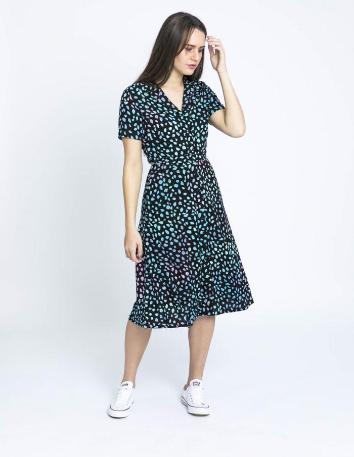 vestido kendra animal print sugarhill brighton sommes demode
