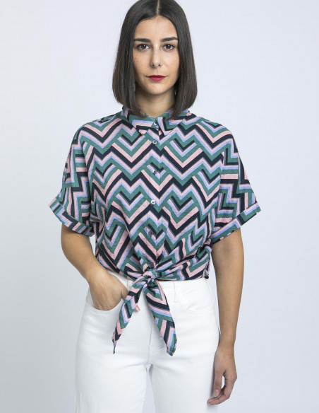 camisa zigzag coryse frnch sommes demode