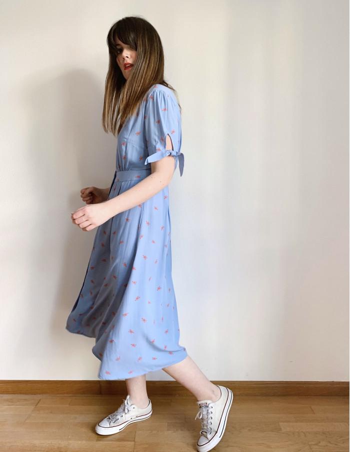 vestido hermione langostas sugarhill sommes demode