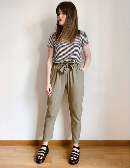 pantalon caqui callie blend she online sommes demode
