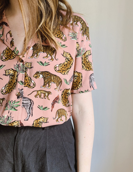 camisa filippa rosa desires online sommes demode