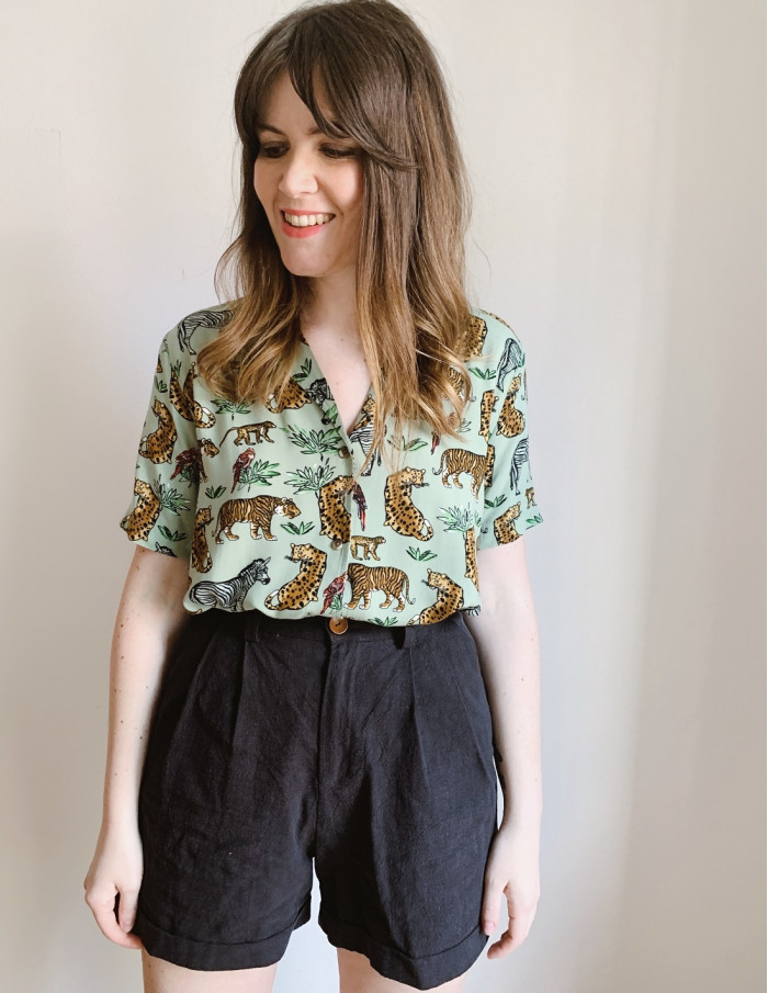 camisa filippa verde desires online sommes demode