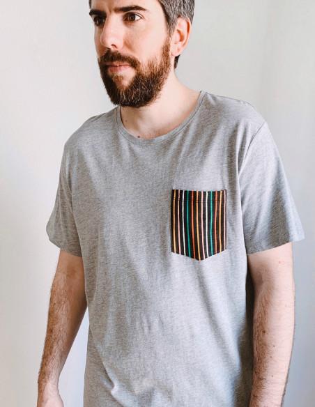 camiseta bolsillo rayas blend zaragoza sommes demode