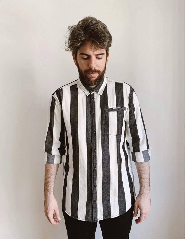 camisa vaquera de hombre rayas blend online sommes demode